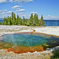 Yellowstone Prismatic Pool by Brent Parks