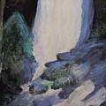 Yosemite Falls by Anne-Elizabeth Whiteway