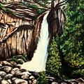 Yosemite Falls by Elizabeth Robinette Tyndall