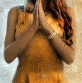 Young Woman Praying by Jill Battaglia