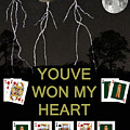 Youve Won My Heart  Poker Cards by Eric Kempson