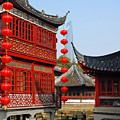 Yu Gardens - A Classic Chinese Garden In Shanghai by Christine Till