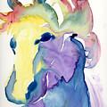 Yupo Horse by Janet Doggett