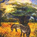 Zebras by Meihua Lu