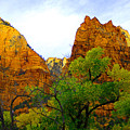 Zion In Autumn by Dennis Hammer