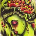 Zombie Girl No2 by Lauren B