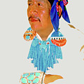 Zuni Indian by Linda  Parker