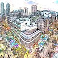 Sham Shui Po District, Kowloon,  Hong Kong by Dean Wittle