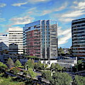 Stamford Business District by Anthony Dezenzio
