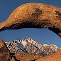 Sunrise Mobius Arch Alabama Hills Eastern Sierras California by Dave Welling