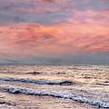 Surf At Sunrise by Debra and Dave Vanderlaan