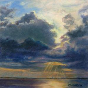 Painting Dramatic Skies Phyllis Tarlow Fine Art Blog