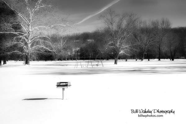 Black and White Winter Landscapes