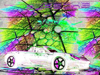 Cars in digital art