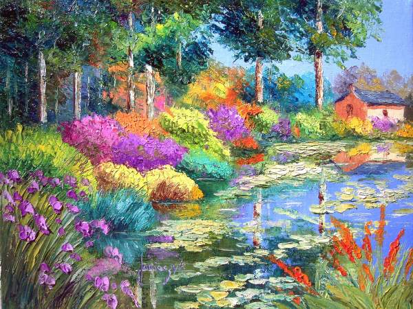 Online Contest Flowers And Or Scenery In Paintings Only