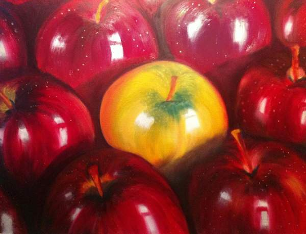 Oil Painting fruits
