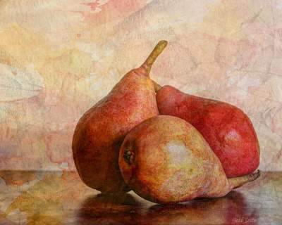Pears In Still Life Photography