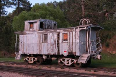 Photographs of old trains