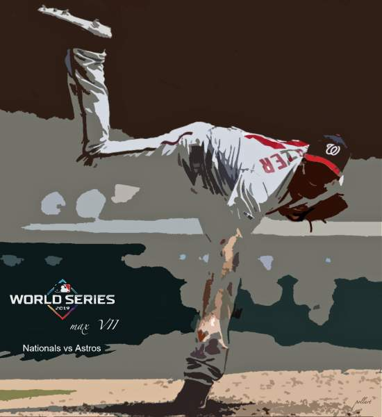 World Series Baseball Poster Art