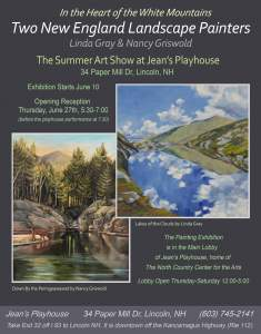 Two New England Landscape Painters Summer...