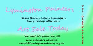 Lymington Painters Arts Crafts and Table Top Sale