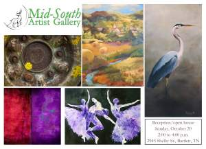 Mid-south Artist Gallery Artist Reception And...