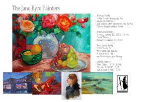 Portland Jane Eyre Painters Show Reception