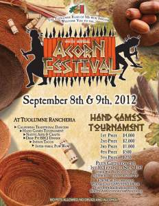 47th Annual Me-Wuk Indian Acorn Festival