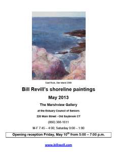 Bill Revill - Shoreline paintings