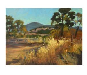 Foothill Gold Rush And Yosemite Paintings On...