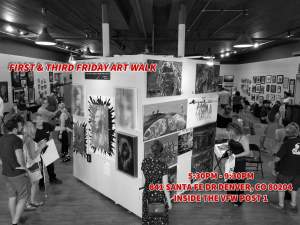 Art Walk At The Vfw Post 1 Gallery