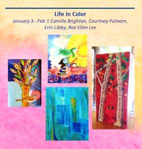 Life In Color  Allied Arts Gallery