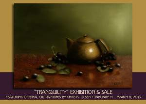 Tranquility Art Exhibition and Sale