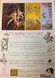 Framing Nature exhibition