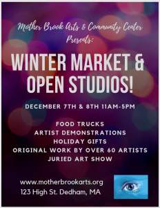 Mbacc Winter Market And Open Studios Dec 7 And 8...