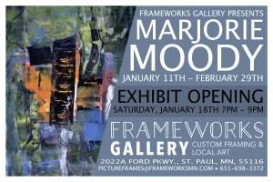 Artist Reception Featuring Marjorie Moody