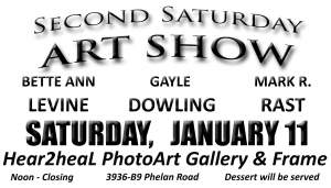 SECOND SATURDAY ART SHOW