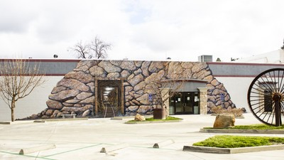 Mural Dedication In Historic Downtown Oroville...