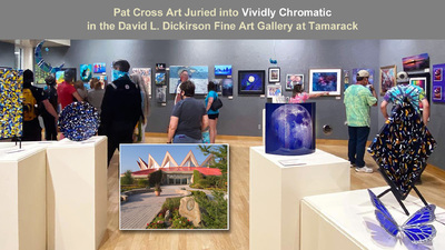 Pat Cross Art Now Showing At Vividly Chromatic