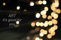 Art - It Is Good For You