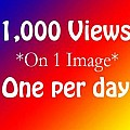 1000 Views on 1 image