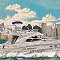 Yachting and waterfront art