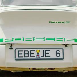 Jill Reger - 1973 Porsche 911 RS Lightweight Rear Emblems
