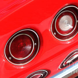 Gary Gingrich Galleries - 69 Red Sting Ray-Tail Lights-8739