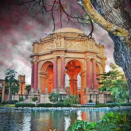 Jim Fitzpatrick - Dusk at the Palace of Fine Arts in the Marina District of San Francisco II Altered Version