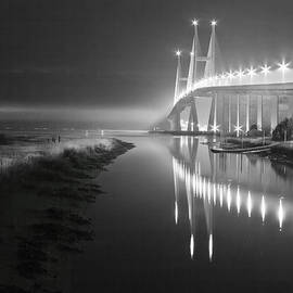 Debra and Dave Vanderlaan - Night Lights in Black and White