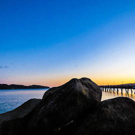Teodora Motateanu - Petone Beach Sunset
