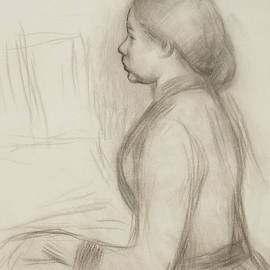 Pierre Auguste Renoir - Study of a Young Girl at the Piano
