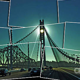 Jim Fitzpatrick - The Old and New spans of the Oakland Bay Bridge