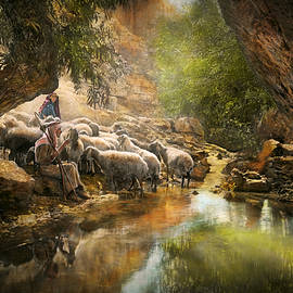 Mike Savad - Bible - The Lord is my shepherd - 1910